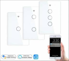 Interruptor Inteligente smart switch 1 Botón + Tuya Smart app