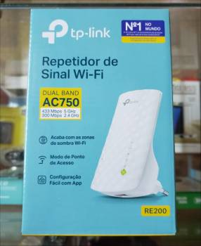 Repetidor Wifi TP-Link Dual Band 2.4 y 5 Ghz