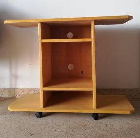 Porta tele TV de madera