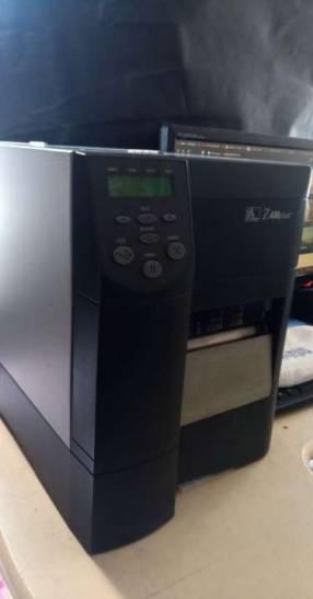 Impresora de código de barras industrial Z4M Plus