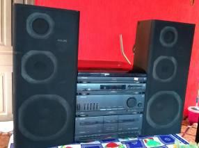 Equipo de sonido Philips 3 en 1