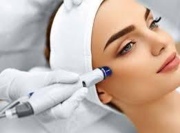 Tratamiento facial puntas de diamante