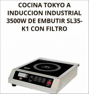 Cocina a inducción industrial Tokyo