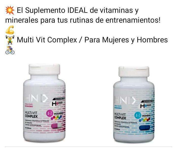 Suplemento vitamínico HND - 0