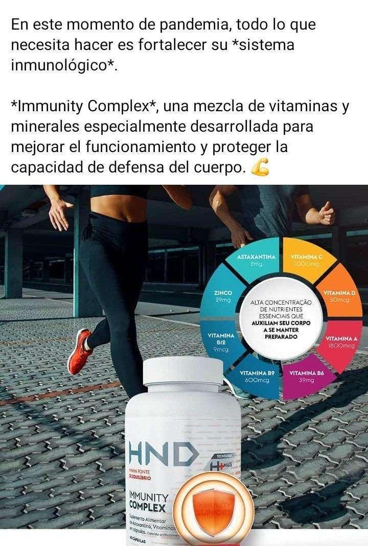 Suplemento vitamínico HND - 1
