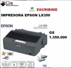 Impresora Matricial Lx350 Nueva