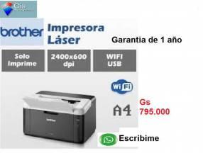 IMPRESORA LASER BROTHER Imprime Oficio Garantia Real