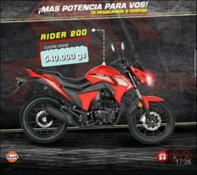 Moto Rider 200