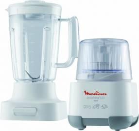 Picadora Moulinex 1-2-3 + vaso licuadora MOD AD6021CL