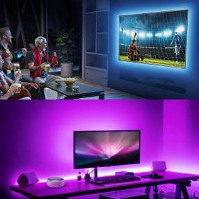 Luces led para tv Inteligentes de 3 metros