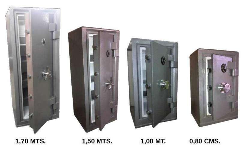 Caja fuerte de pie Metalúrgica CDASA - 0