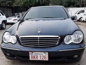 Mercedes benz c200 kompressor 2001