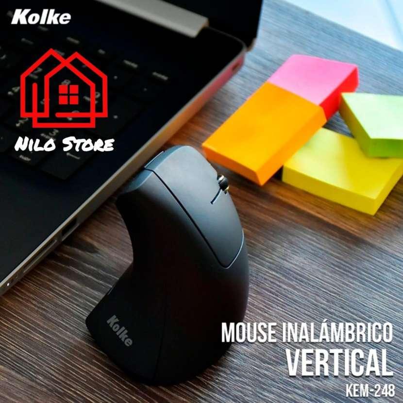 Mouse vertical inalámbrico Kolke - 0