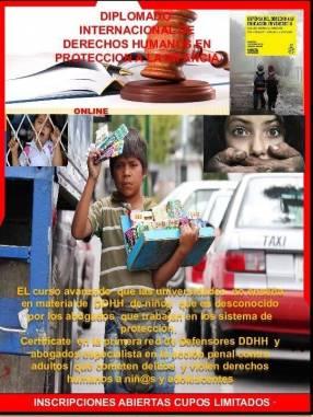 Diplomado Derechos Humanos en protección a la infancia