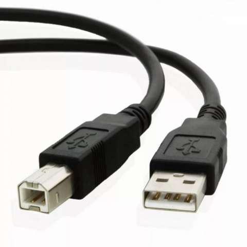 Cable de impresora usb 2.0 alta velocidad 1.5M HP Epson - 1