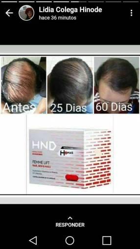Suplemento para caída de cabello