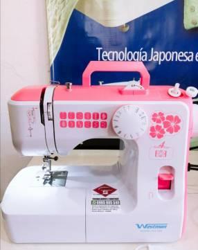Maquina de coser profesional portátil Westman ws588