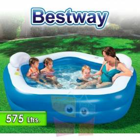 Piscina infantil inflable Bestway Family Fun 54153