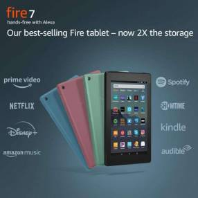 Tablet Amazon Fire de 7 pulgadas a wifi de 16 gb