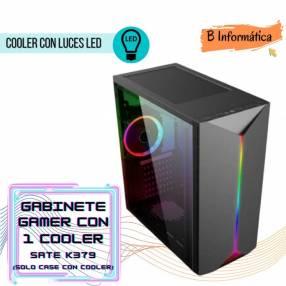 Gabinete Gamer Sate k379 con 1 cooler ATX