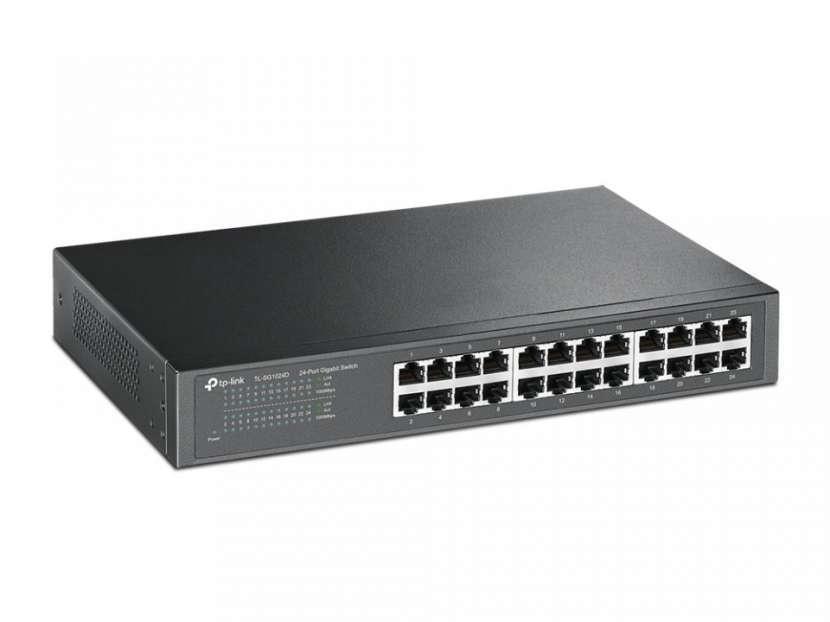 Switch Tp-Link Gigabit TL-SG1024D 24 Puertos - 2