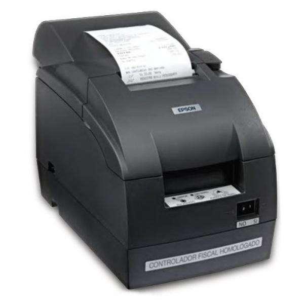 Bobina 75 x 55 mm para impresora Epson TMU 220 - 1