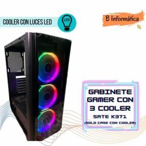 Gabinete Gamer Sate K371 3 ventiladores ATX