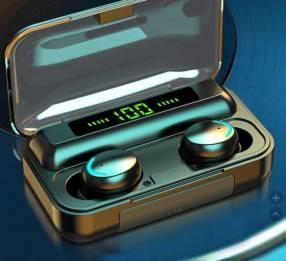 Auriculares TWS bluetooth 5.0 caja de carga portátil de 2200mAh