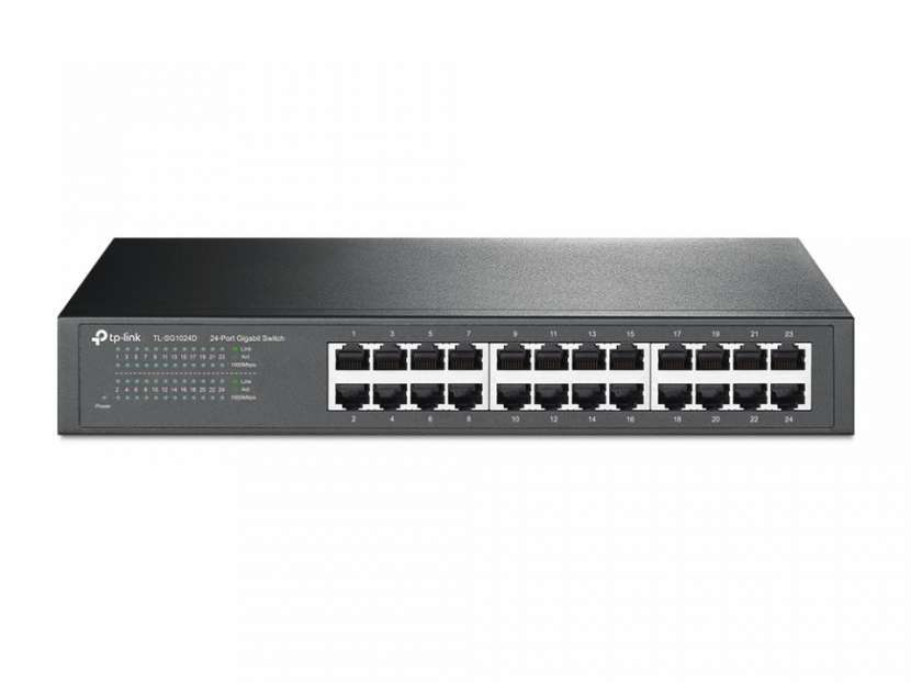 Switch Tp-Link Gigabit TL-SG1024D 24 Puertos - 1