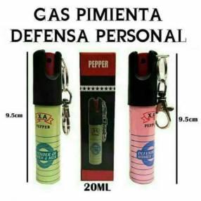 Gas pimienta para defensa personal