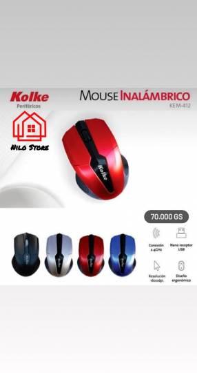 Mouse inalámbrico Kolke 412