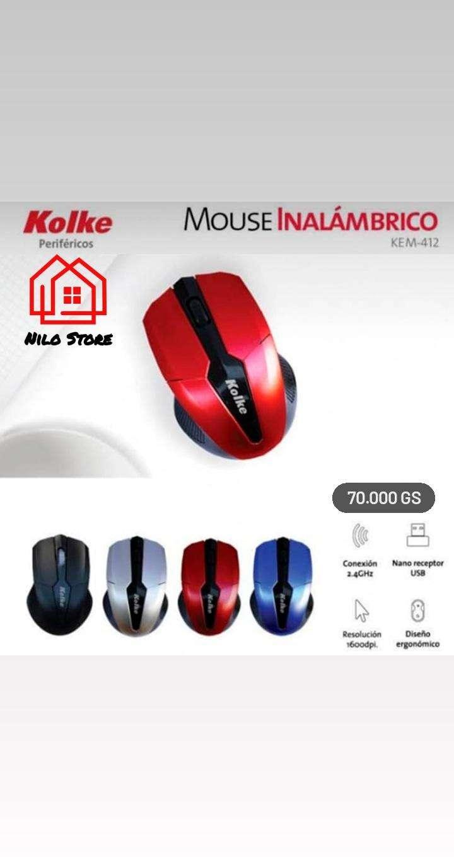 Mouse inalámbrico Kolke 412 - 0