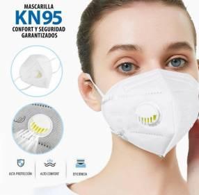 Mascarilla kn95 con válvula de exhalación