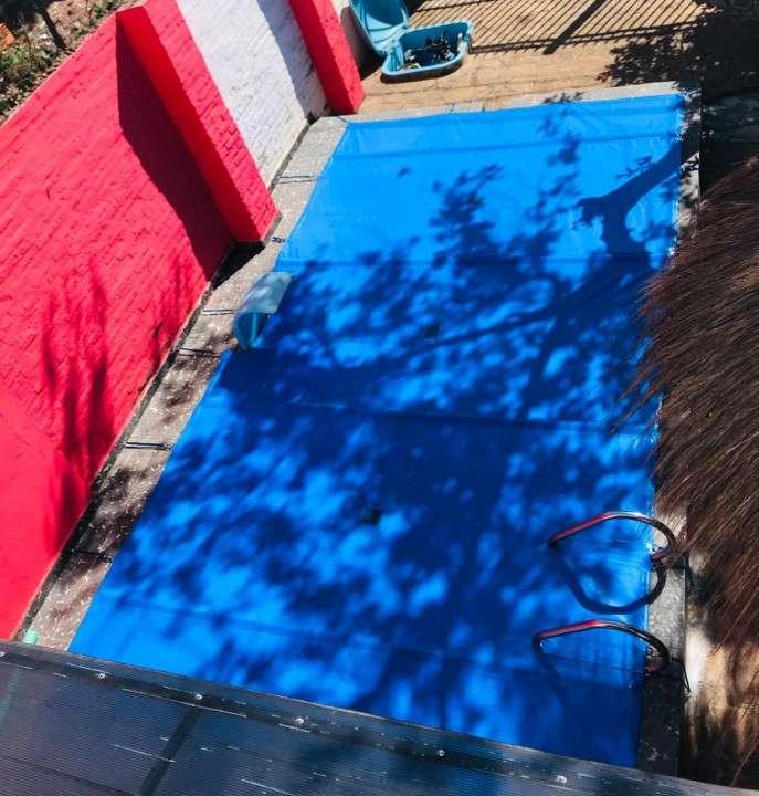Cobertura de carpa para piscina - 0