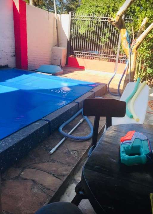 Cobertura de carpa para piscina - 1