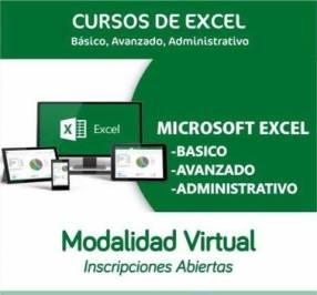 Curso de Excel profesional virtual