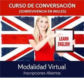 Curso de inglés conversación virtual