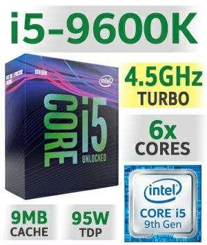 Procesador i5 9600k y Z390 msi mpg Gaming Plus - 0