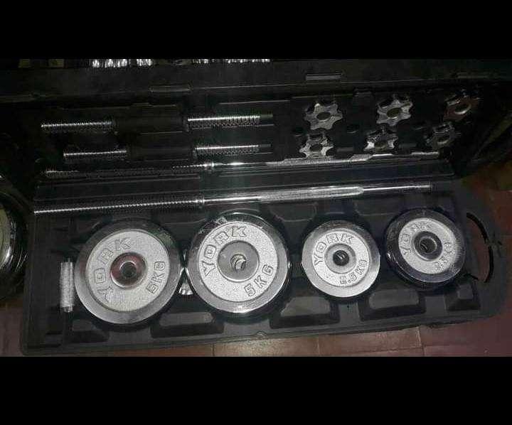 Kit de barras y discos - 0