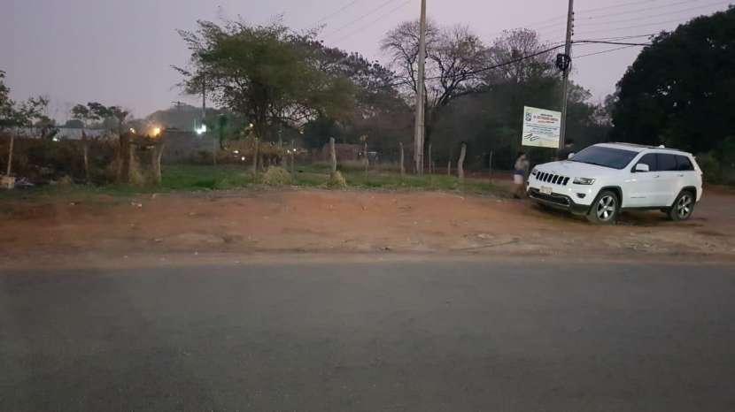 Terreno con calle asfaltada en Capiatá - 0