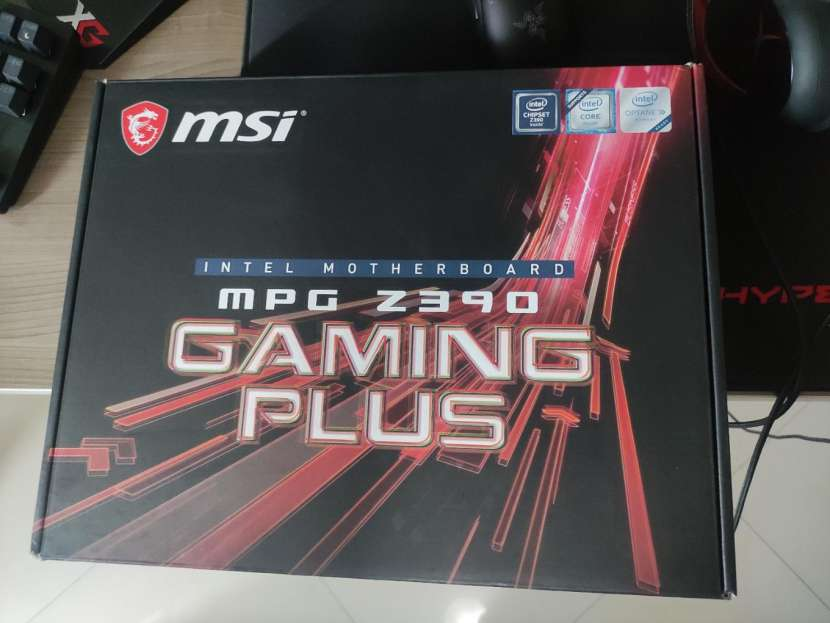 Procesador i5 9600k y Z390 msi mpg Gaming Plus - 1