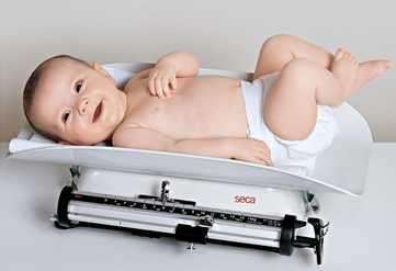 Balanza mecánica pediátrica SECA 725 - 1