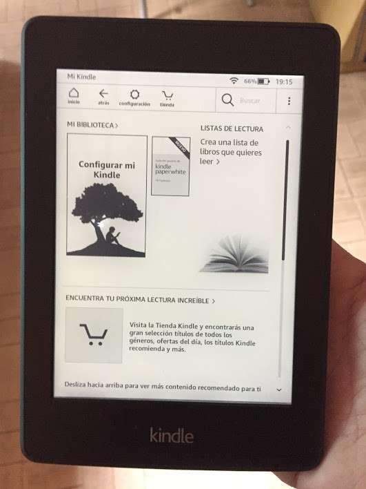 Amazon Kindle Paperwhite 6ta generación táctil luz incorporada - 3