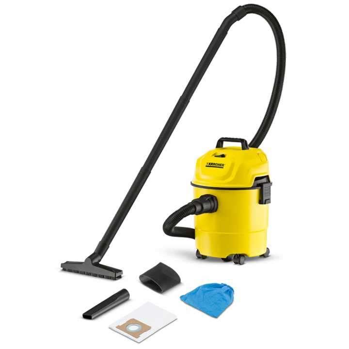 Aspiradora karcher wd1 kap para polvo y liquido - 0