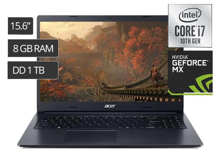 Notebook Acer i7 Mx230 - 0