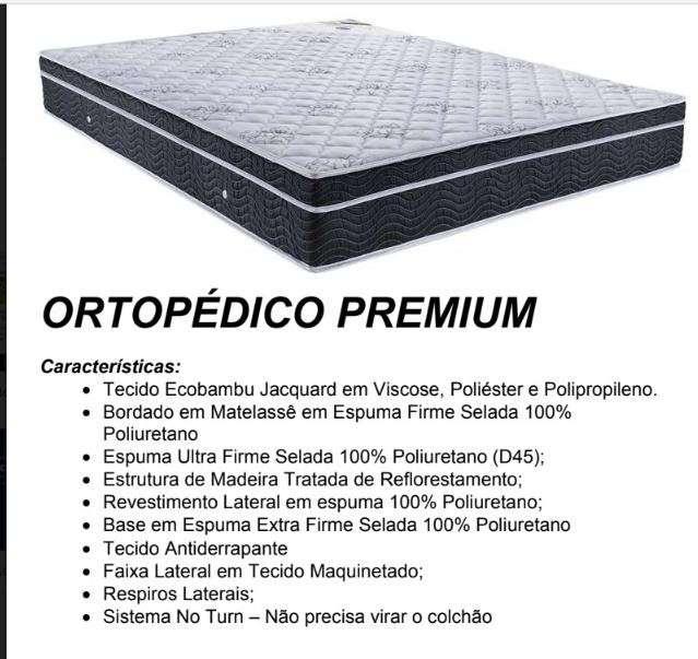 Colchón Ortobom Ortopédico Premium - 2