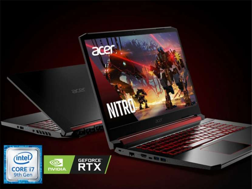 Notebook Acer Nitro i7 256 GB SSD RTX 2060 - 0