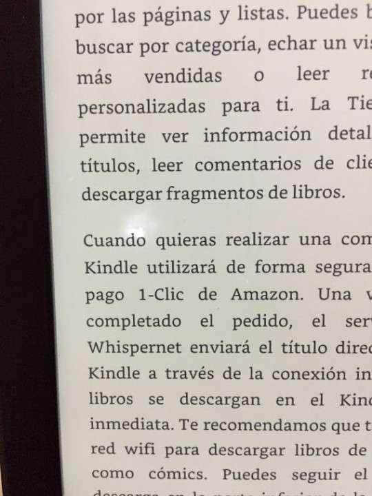Amazon Kindle Paperwhite 6ta generación táctil luz incorporada - 5