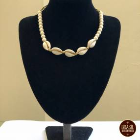 Collar tipo choker bijou de caracoles de colores (PROMOCION)