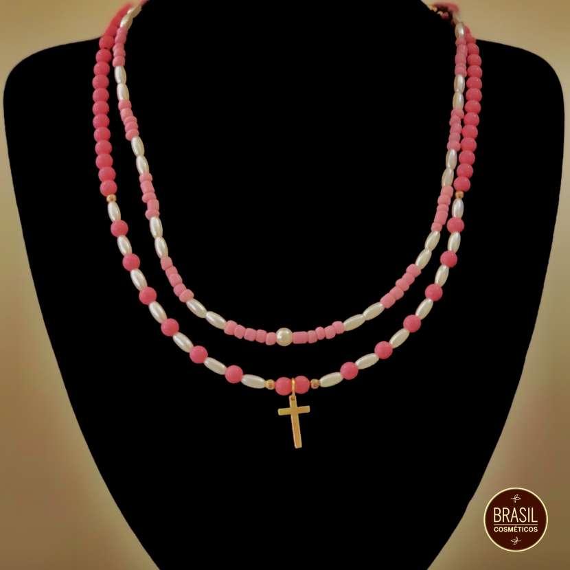Collar de bijou colorido - 0